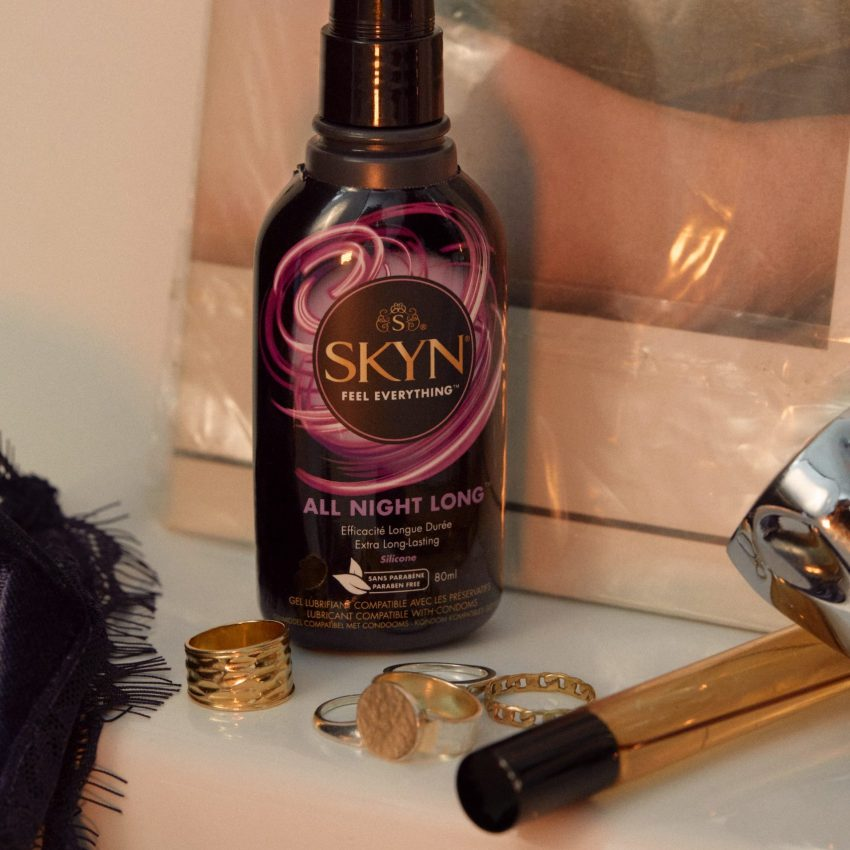 SKYN All Night Long Lubricant with jewels