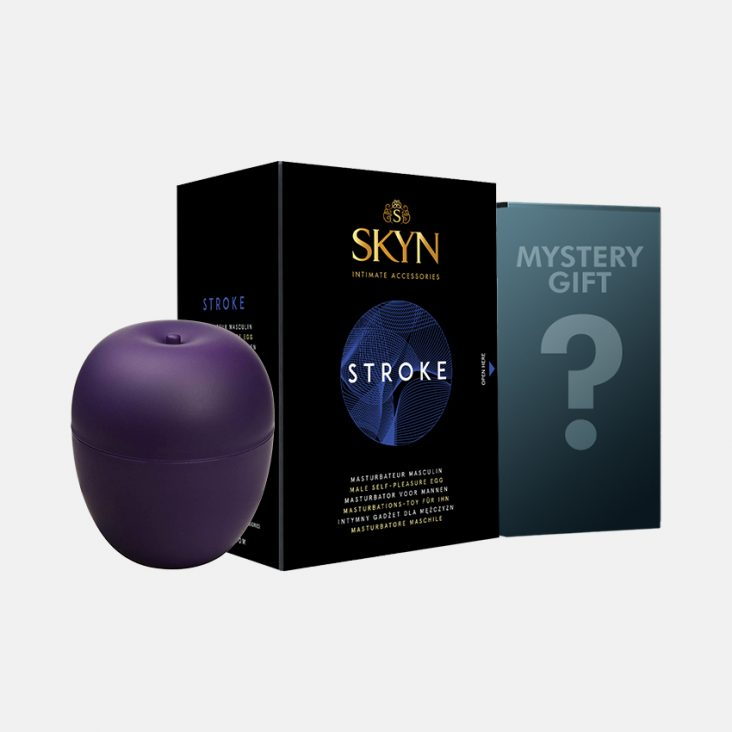 SKYN® STROKE™ – Uovo per il piacere degli uomini + regalo misterioso